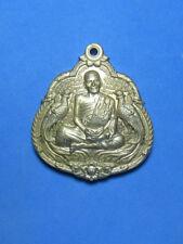 0281-THAI AMULET BUDDHA PHAYA KAI COIN LP DANG LUCKY 52