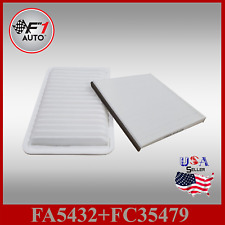 Auto1tech Engine Filter & Cabin Air Filter Combo Set For CAMRY SIENNA SOLARA