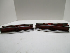 1974-1976 Cadillac Deville and Fleetwood Full set of rear marker lights