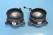2005 CHRYSLER CROSSFIRE #18 FRONT RIGHT & LEFT DOOR SPEAKER SPEAKERS PAIR