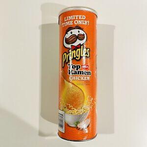 Pringles Nissin Top Ramen Chicken Flavor SEALED 5.5oz Canister - See Description