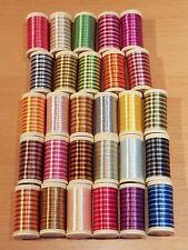 1.70 EUR//100 Meter Gütermann Multicolor Quiltgarn Cotton 30 Farbe 4017