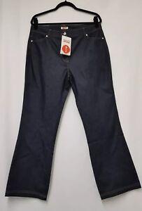 Womens Damart Indigo Jeans Size 18, 36W, 29L Womens Plus Size Jeans Womens Jeans