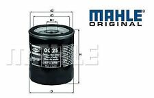 Oil Filter BMW E30 3 Series M10 engines MAHLE original OC25,BMW 11421258039