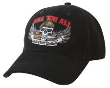 US Army KILL 'EM ALL Ball Cap Green Beret Ranger Airborne Navy SEAL USMC Hat