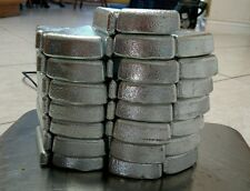 50 lbs Zinc Ingot Bullion Bar Marine Scrap Metal Coating