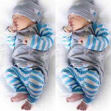 Hudson Baby Boy and Girl Zipper Sleep N Play 3-Pack Navy Stars /& Moons