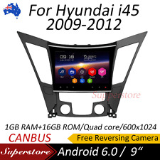 "9"" Android 6.0 Quad Core GPS Nav Car Multimedia player For Hyundai i45 2009-2012"