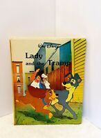 Walt Disney's Lady and the Tramp Vintage 1986 Twin Books - Hardback Cover Book