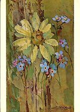 Alte Kunstpostkarte - Erwin Stäheli - Marguerite