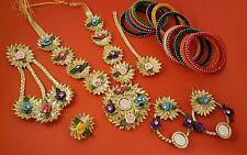 Indian pakistani hand made Gota jewellery for Mehndi Bridal Wedding (6)