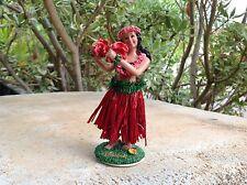 "New Hawaiian  Dashboard Hula Doll Dancer Girl Posing  4"""