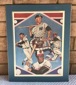 The Living Triple Crown Mickey Mantle By Robert S Simon 86 Signed & Numbered