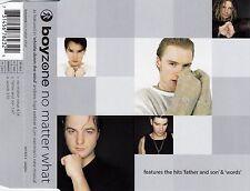 BOYZONE : NO MATTER WHAT / CD