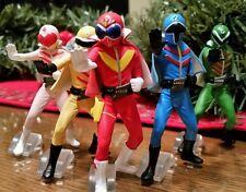 GO RANGER Bandai Power Rangers Sentai HG Gashapon 5 Figure Full set pink IN USA