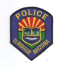 **ELMIRAGE ARIZONA POLICE PATCH**