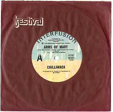 """CHILLIWACK - ARMS OF MARY / I WANNA BE THE ONE - RARE 7"""" 45 VINYL RECORD 1978"""