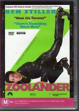 ZOOLANDER - DVD R4 Ben Stiller - LIKE NEW - FREE POST