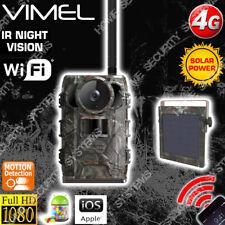Trail Camera Owlzer 4G 2K UHD 2560x1440 Wireless Farm Solar 3G Night Vision View