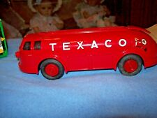ERTL 1934 TEXACO Doodle Bug Truck Replica Coin Bank 1934 Diamond T Tanker