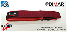 REPLACEMENT ORIGINAL  WATCH BAND CASIO G-SHOCK. DW-003-4V.