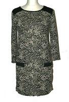 *NEW* BHS Womens Ladies Tunic Top Black Beige Tunic Dress Size: 8 - 22