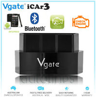 GENUINE VGATE ICAR3 BLUETOOTH OBD2 ELM327 CAR DIAGNOSTIC SCAN TOOL ANDROID