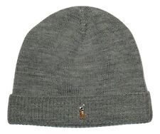 f9d316c7b Polo Ralph Lauren Icon Polo Pony Player Wool Watch Cap Hat Beanie Skully