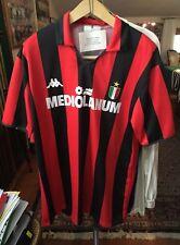 Maglia match worn calcio Milan no roma lazio juve napoli inter