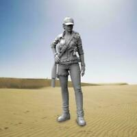 55mm 1//35 Fashion Girl Soldier Resin Figur Modell C9A5 D9M6