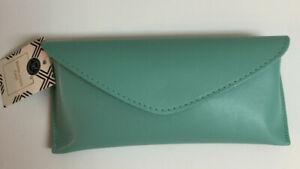 Fashion Sunglass Glass Case Hot Summer Colors Magnetic Close Black Velvet Lining