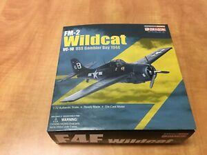 Dragon Warbirds Series FM-2 Wildcat VC-10 USS Gambier Bay 1944 Diecast WWII 1/72