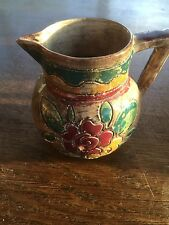 Vintage Shorter & Sons studio art pottery rare Medina jug by Mabel Leigh