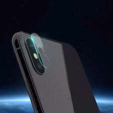 9H Tempered Glass Back Camera Lens Protection Film Cover Protector For iPhone X