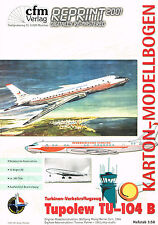 TUPOLEW TU 104 B, sowjetisches Passagierflugzeug. Code CAMEL