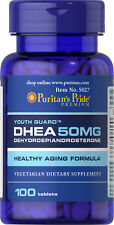 Puritan's Pride DHEA 50 mg - 100 Tablets