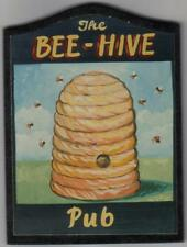 PUB SIGN NEW 10 inch 25 cm THE BEE HIVE apiary bees apiarist honey hive bumble