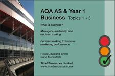 AQA GCE AS & Year 1 Business Revision Pack