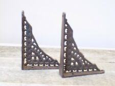 2 Antique Style Shelf Brace Wall Bracket Cast Iron Brackets SMALL 5 x 4 Corbels