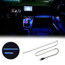 ABS Instrument Panel Trim Atmosphere Blue Light Frame light For Toyota RAV4 2020