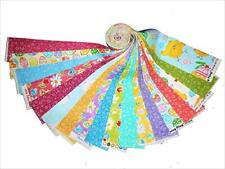 18 2.5 Inch Easter Fabric Quilting Jelly Roll Strips Bright Vibrant Colors