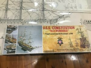 MAMOLI USS Constitution - 1:93 scale wooden ship kit