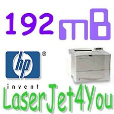 192MB MAXIMIZE MEMORY HP LASERJET 4050 4050n 8100 8150