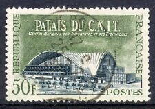 STAMP / TIMBRE FRANCE OBLITERE N° 1206 PALAIS DU C.N.I.T
