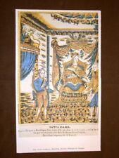 Santa Isabella Barcellona Stampa popolare spagnola Spagna
