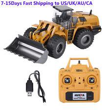 HUINA 583 2.4G 1:14 RC Bulldozer Engineering Vehicle Built-in LED Flashing Light