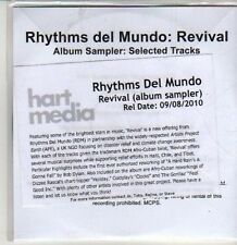 (CS656) Rhythms Del Mundo, Revival sampler - 2010 DJ CD