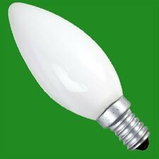 6x 60W Frosted Candle Incandescent Filament Dimmable Light Bulbs SES E14 Lamps