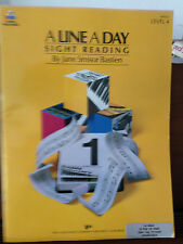 A Line a Day Sight Reading by Jane Smisor Bastien