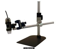 Tabletop Boom Stand w/ Horizontal Arm for Dino Lite Digital Microscopes (MS36B)